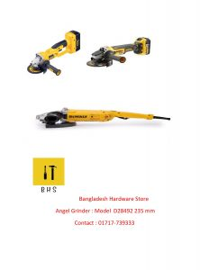 Dewalt angle Grinder dealer in bd