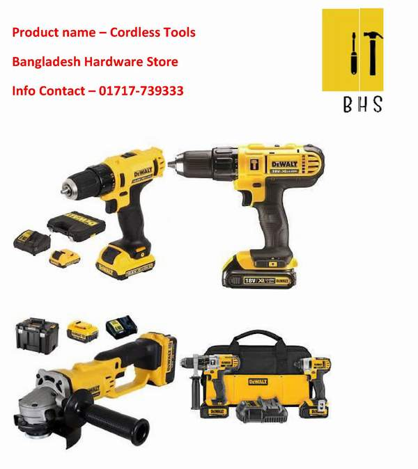 Cordless tools supplier in bd