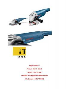 Bosch angle Grinder wholesaler in bd