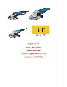 angle grinder supplier in bd