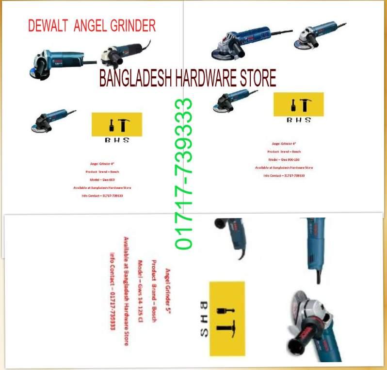 Bosch angle Grinder in bd