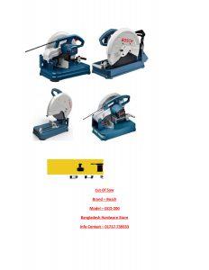 Bosch Cut Of Saw Supplier in bd