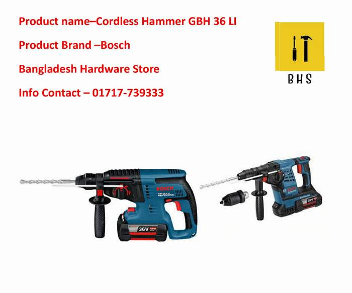 GBH 36V LI supplier in bd