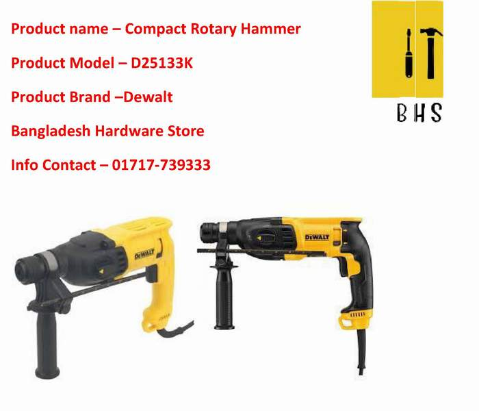 D25133k Compact Rotary Hammer dealer in bd