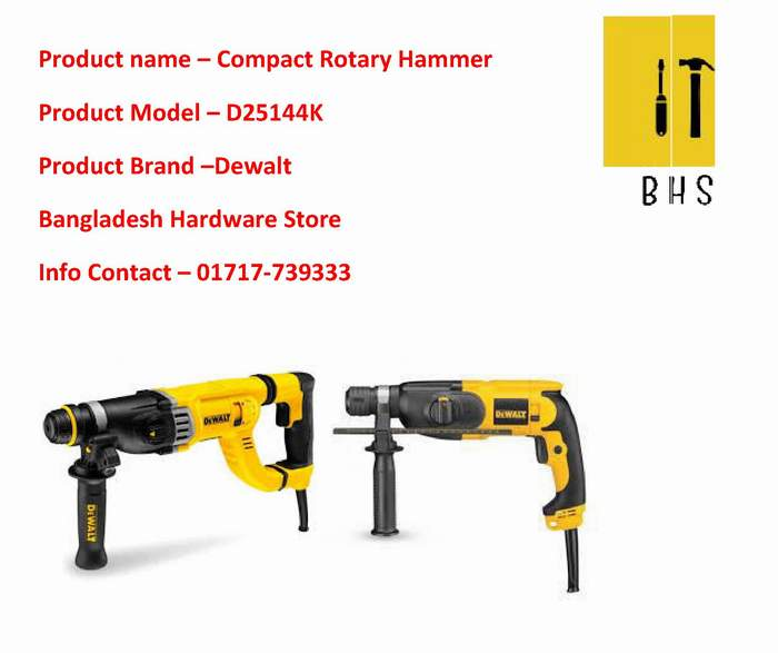 D25144k Compact Rotary Hammer Dealer in bd