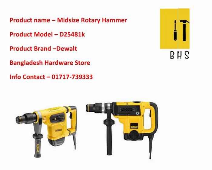 D25481k Midsize Rotary hammer Wholesaler in bd