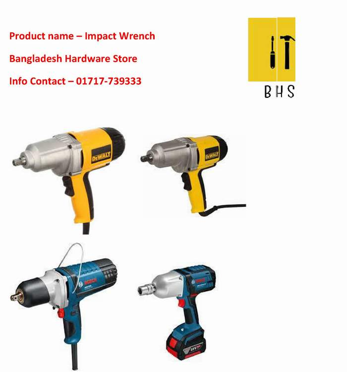 Impact Wrench supplier in bd