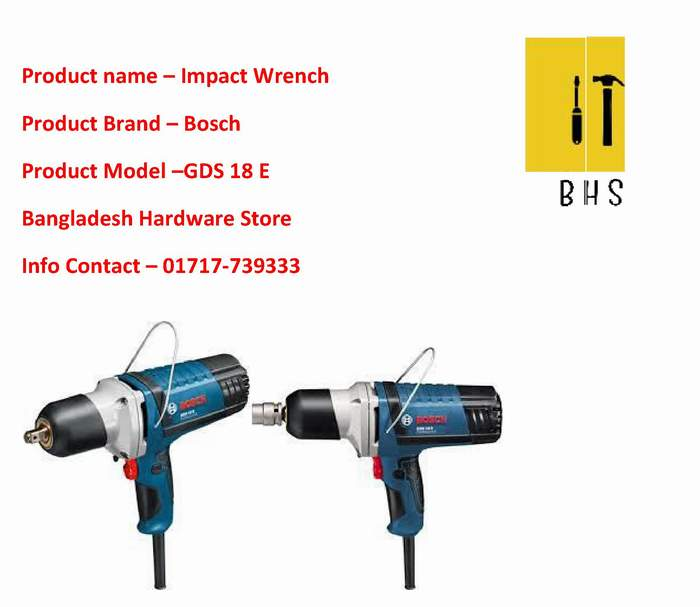 GDS-18E Impact Wrench Supplier in bd