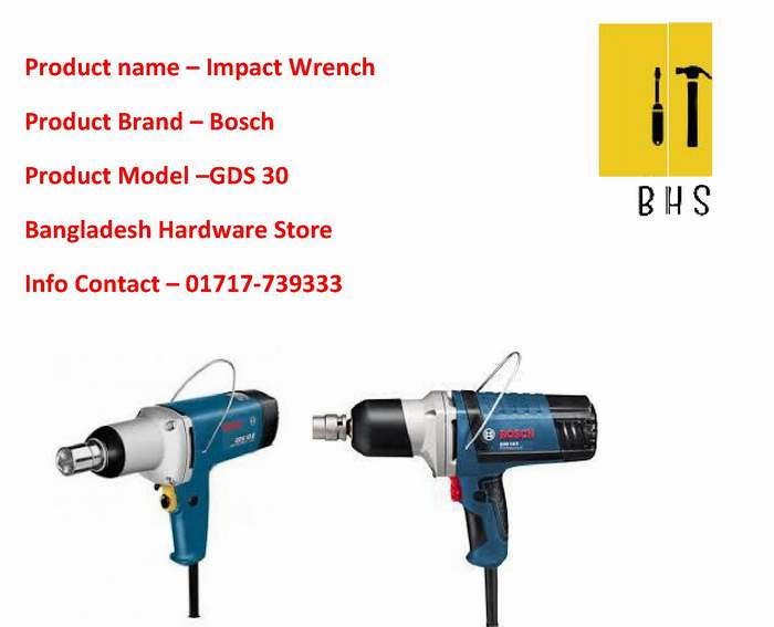 Gds 30 Impact Wrench Dealer in bd