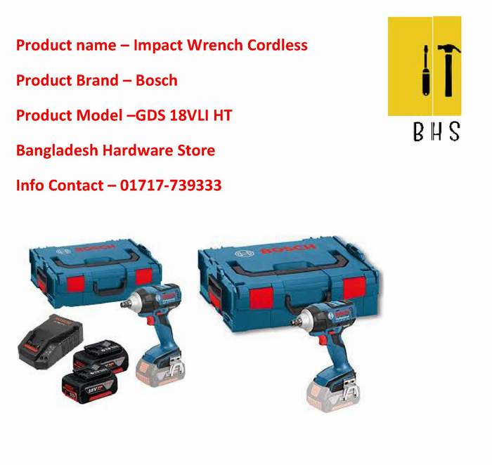 Impact Wrench Cordless Dealer in bd