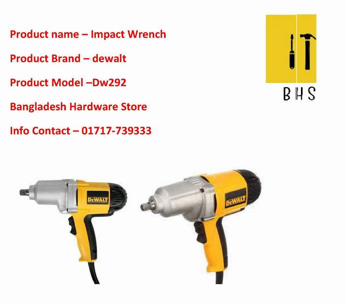Dw292 Impact Wrench supplier in bd