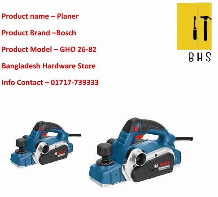 Gho -26-82 Bosch planer Wholesaler in bd