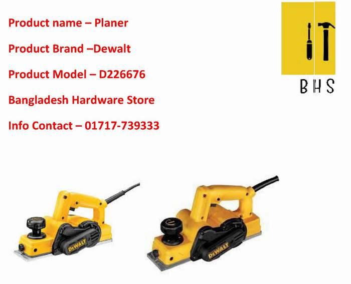 D26676 Dewalt planer Dealer in bd