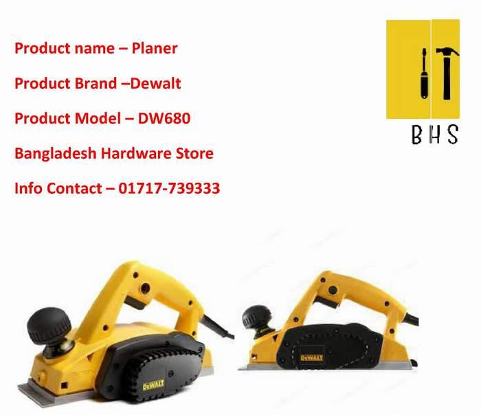 Dw680 Dewalt Planer Dw680 Dealer in bd