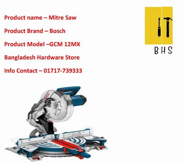 Bosch Gcm 12mx miter saw dealer in bd