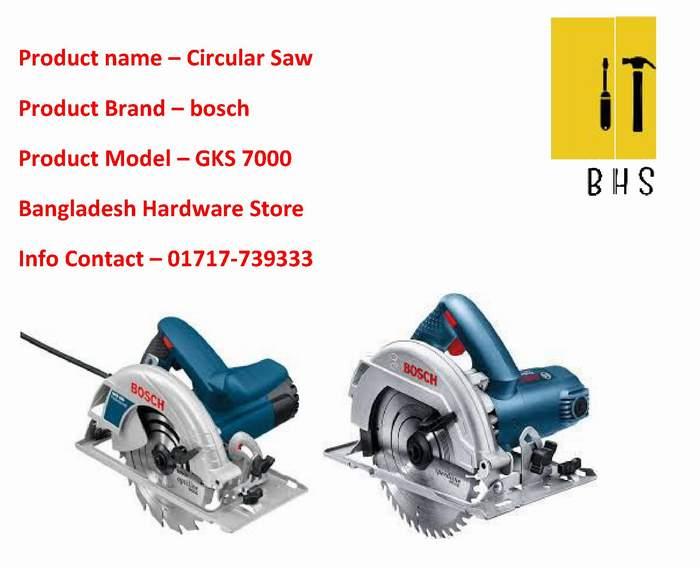 Bosch Gks 7000 Circular Saw dealer in bd