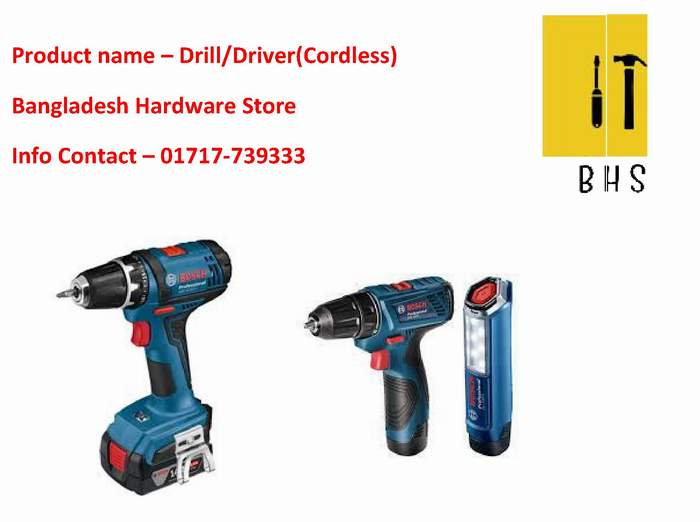 Driil/Driver(Cordless) supplier in bd