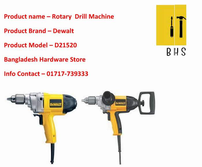 d21520 rotary drill supplier in bd