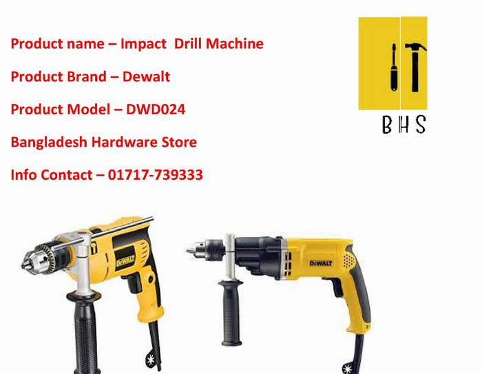 dwd024 impact drill dealer in bd