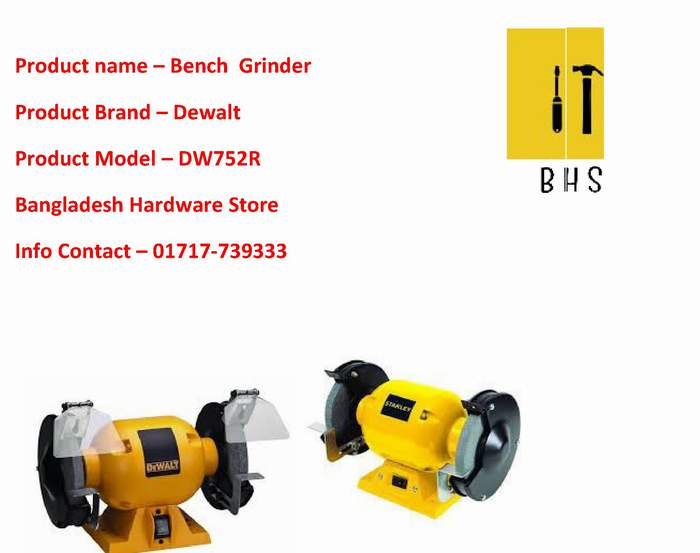 Dewalt bench grinder wholesaler in bd