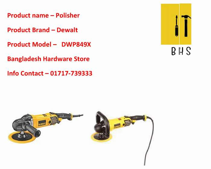 Dewalt polisher dealer in bd