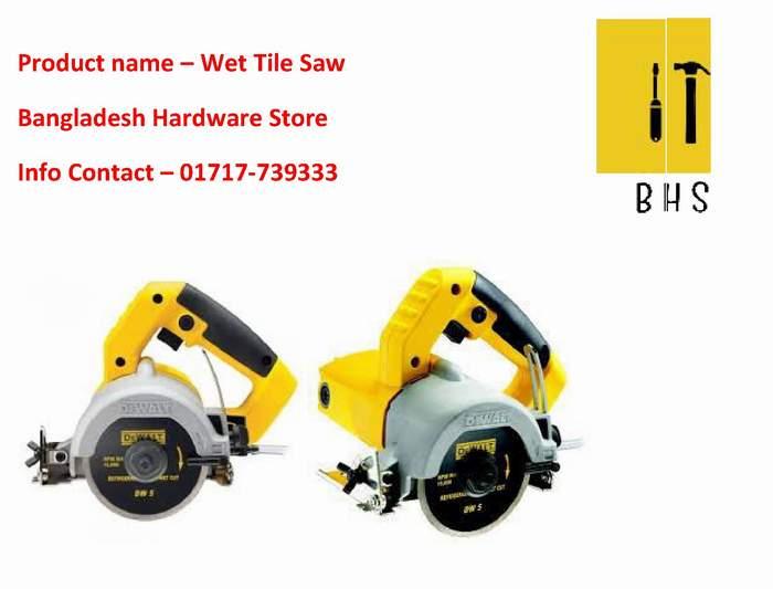 Wet tile saw supplier in bd