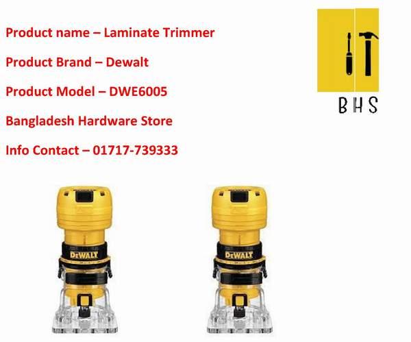 Dewalt laminate trimmer dealer in bd