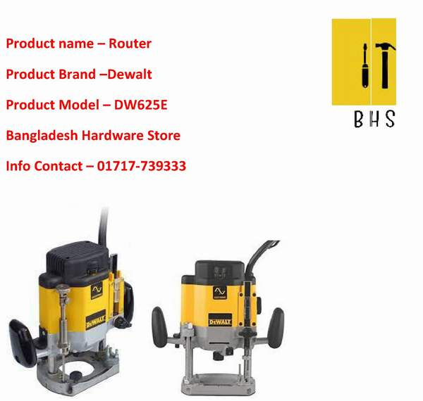 dewalt router wholesaler in bd