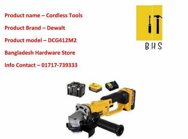 dewalt cordless tools supplier in bd