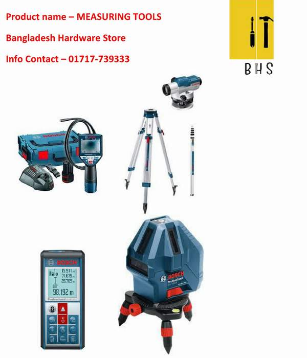 Measuring tools supplier in bd