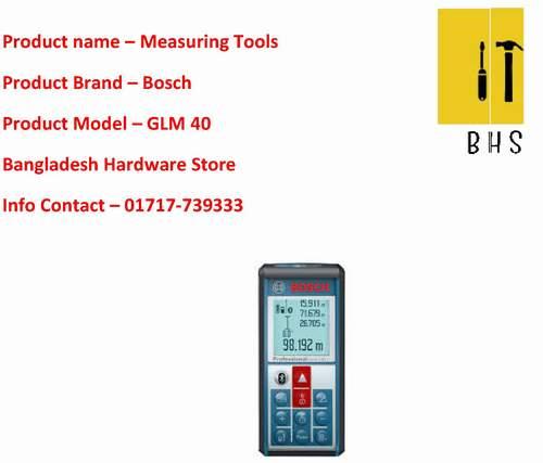 Bosch measuring tools supplier in bd