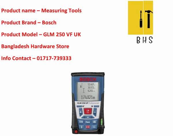 Bosch measuring tools dealer in bd