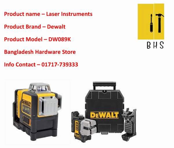 dewalt Laser Instruments dealer in bd