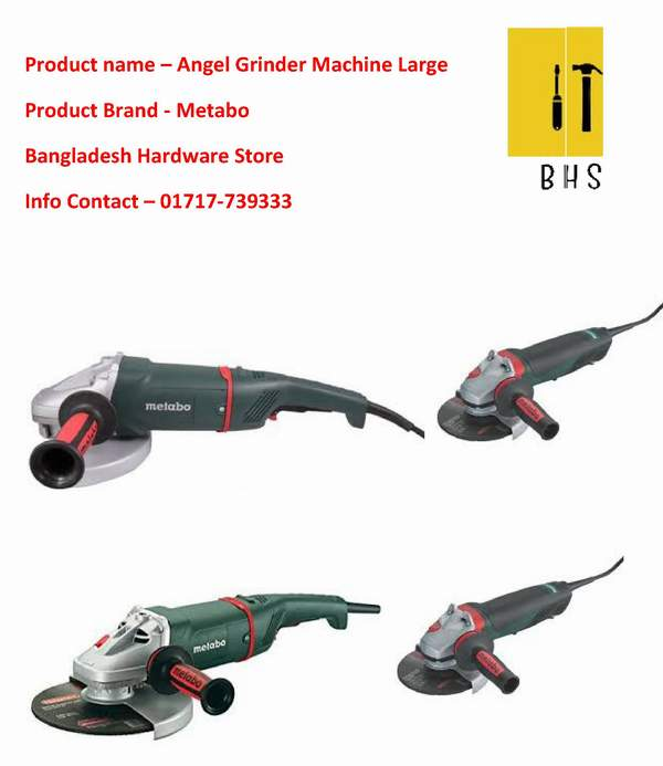 Metabo angle grinder supplier in bd