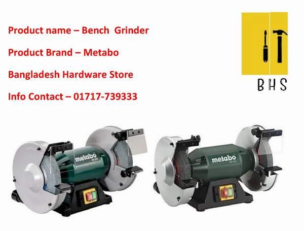 Metabo bench grinder in bd