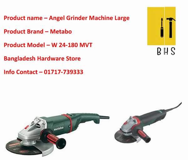 Metabo angle grinder wholesaler in bd