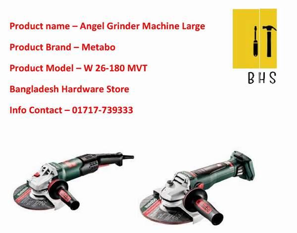 Metabo angle grinder supplier in bd