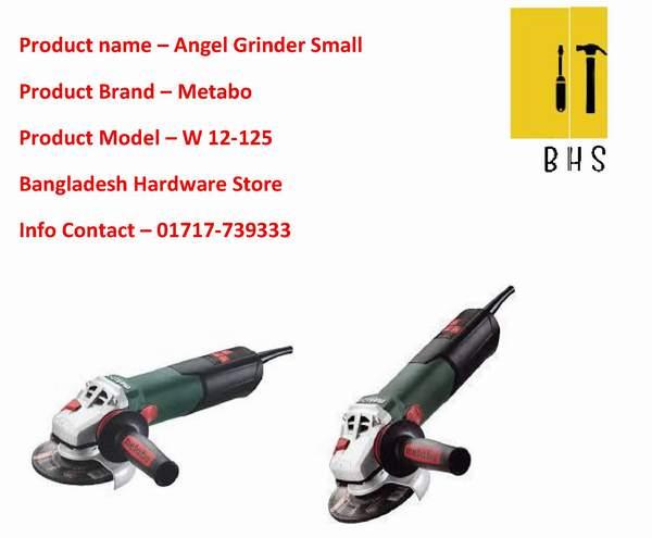Metabo angle grinder in bd.