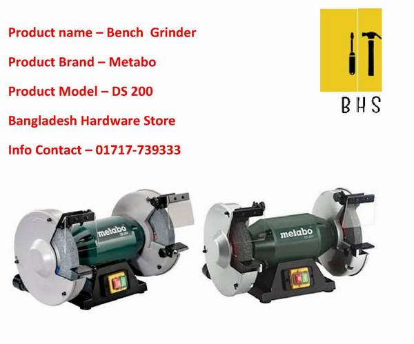 Amazing Metabo Ds 200 Bench Grinder Dealer And Supplier In Bd Gmtry Best Dining Table And Chair Ideas Images Gmtryco