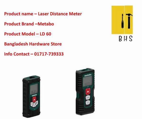 Metabo Laser distance meter in bd