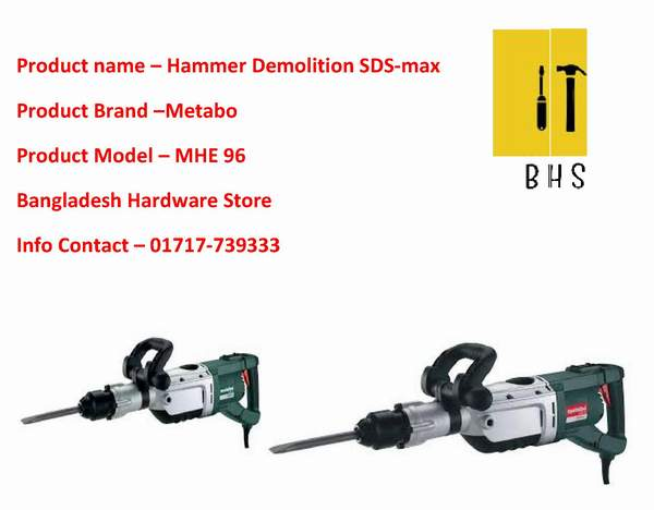 Metabo Hammer Demolition supplier in bd