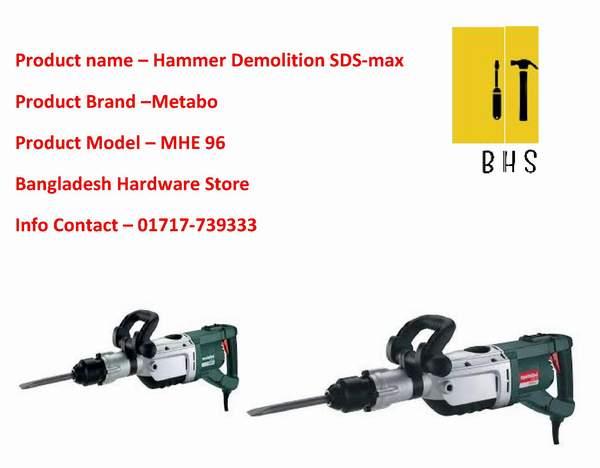 Metabo Hammer Demolition supplier in bd