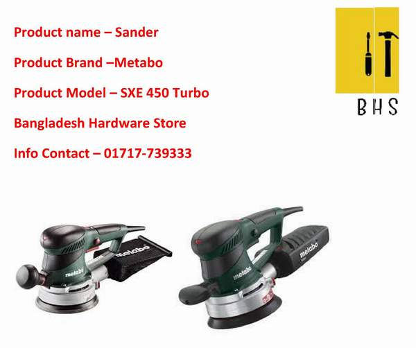 Metabo sander in bd