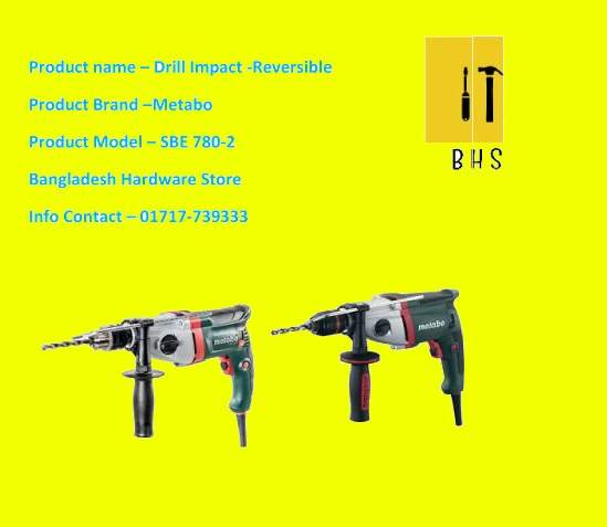 Metabo Drill Impact dealer in bd