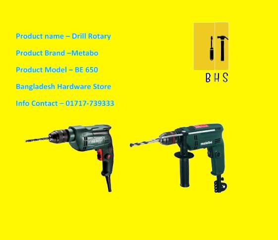 Metabo Drill rotary supplier in bd