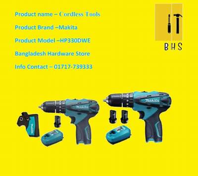 makita hp330dwe cordless tools in bd