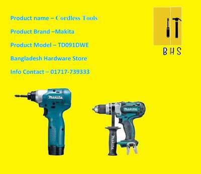 makita td091dwe cordless tools in bd