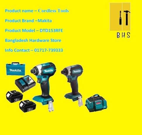 makita dtd153rfe cordless tools in bd