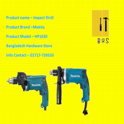 Makita impact drill in bd