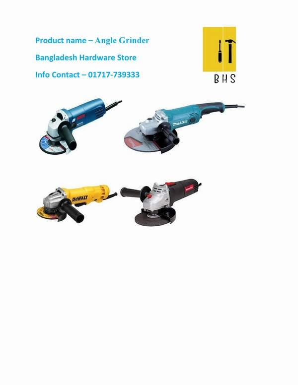 Angle grinder importer in bd